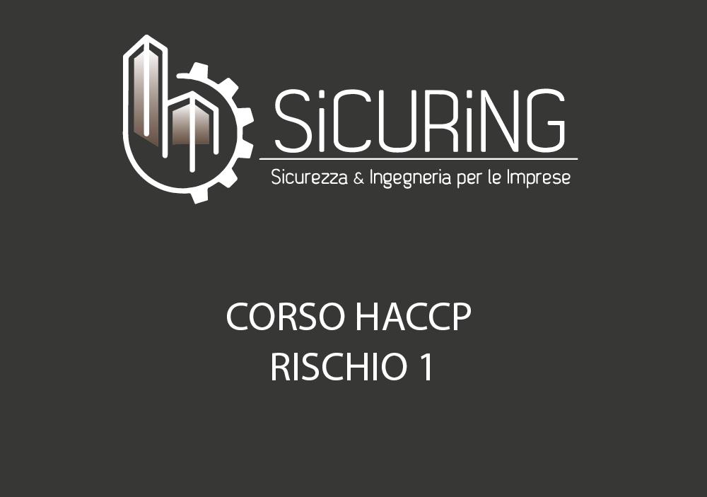 CORSO HACCP – Rischio 1